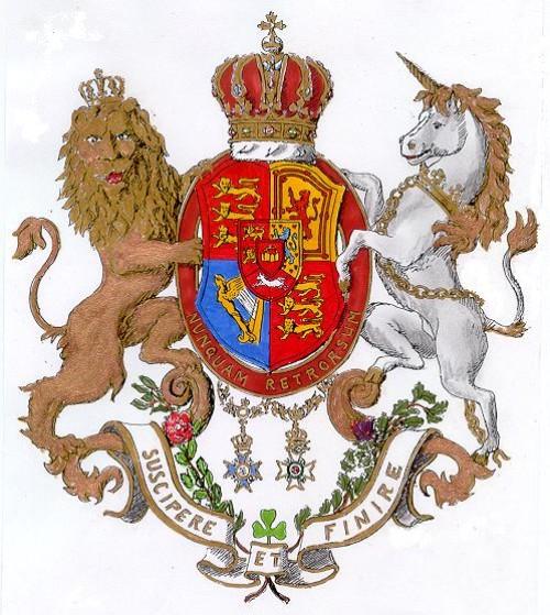 Das Wappen des Hauses Hannover